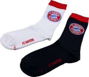 FC Bayern München Kinder Socken 2er-Set - verschiedene Größen