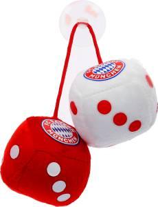 FC Bayern München Plüschwürfel 4x4x4cm