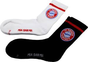 FC Bayern München Sport-Socken 2er Set - verschiedene Größen