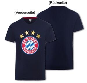 FC Bayern München T-Shirt Logo navy - verschiedene Größen