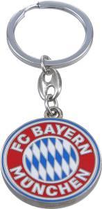 FC Bayern München Schlüsselanhänger Logo bunt