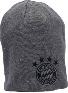 FC Bayern Wendebeanie schwarz/grau