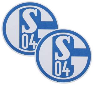 FC Schalke 04 Bierdeckel 50er-Set, 10,7 cm