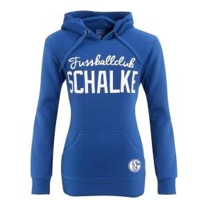 FC Schalke 04 Damen Kapuzen-Sweat Fußballclub, - verschiedene Größen