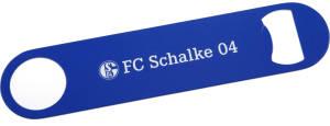 FC Schalke 04 Flaschenöffner Edelstahl, 17,8x4 cm
