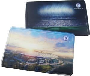 FC Schalke 04 Frühstücksbrettchen Arena 2er-Pack, 22 x 14cm