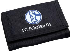 FC Schalke 04 Geldbörse schwarz 13x9cm