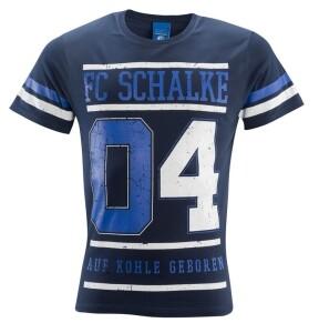 FC Schalke 04 Herren T-Shirt College marine - verschiedene Größen