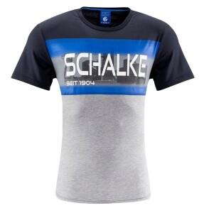 FC Schalke 04 Herren T-Shirt Schalke 04 marine - verschiedene Größen