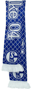 FC Schalke 04 Schal Muster