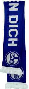 FC Schalke 04 Schal Wir Leben Dich 150 x 17 cm