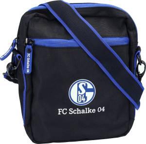 FC Schalke 04 Schultertasche schwarz 26x21x5cm