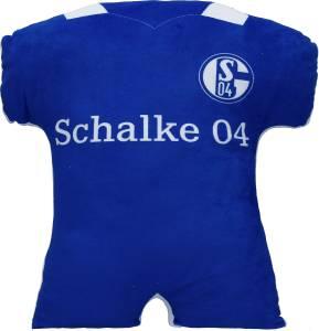 FC Schalke 04 Kissen Trikot, 38 x 42 cm
