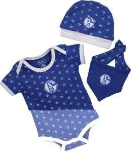 FC Schalke Baby-Set königsblau - verschiedene Größen