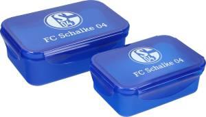 FC Schalke 04 Brotdosen-Set Signet