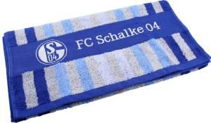FC Schalke 04 Handtuch Multi Streifen 50x100cm