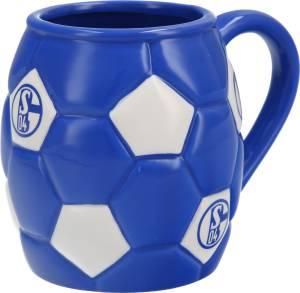 """FC Schalke 04 Tasse """"Fußball"""" 0,3 Liter"""