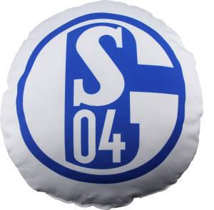 FC Schalke 04 Kissen Signet rund 45 cm