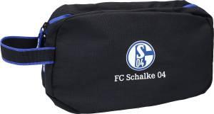 FC Schalke 04 Kulturbeutel schwarz 30x17x10,5cm