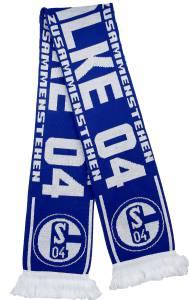 FC Schalke 04 Schal 1.000 Freunde 150x17cm