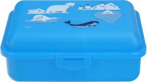 Fizzii Brotdose mit Trennfach Eiswelt