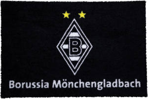 Borussia Mönchengladbach Fußmatte Raute 60x40cm