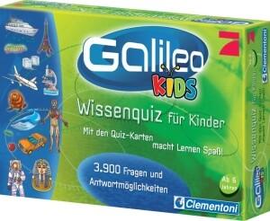 Clementoni Galileo Wissens-Quiz für Kinder