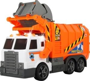 Müllabfuhr mit Mülltonne, 46 cm