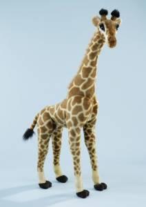 Giraffe stehend, ca. 85 cm Plüsch