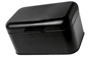 Gusta Brotkasten 30,5 x 20,7 x 15 cm schwarz
