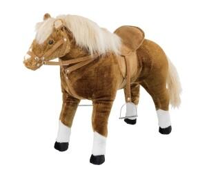 Haflinger-Pferd mit Sound, inklusive Sattel und Trense