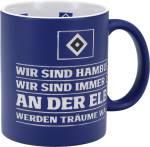"""HSV Tasse """"Hymne"""" 0,3 Liter"""