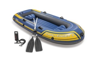 "Intex Schlauchboot ""Challenger 3"" Set 295x137x43cm"