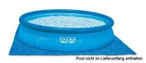 Intex Bodenplane für Easy Set Pools & Frame Pools von 244 - 457 cm