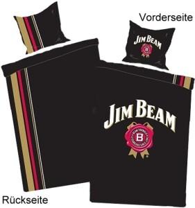 "Jim Beam Bettwäsche ""Back Stripes"""