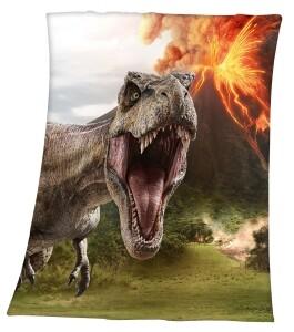Jurassic World Soft-Fleecedecke 130x160cm