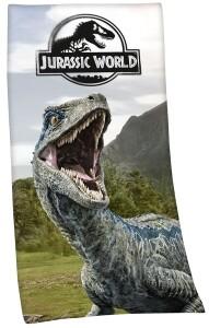 Jurassic World Velours-Badetuch 75x150cm