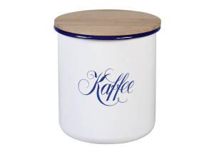 """Karl Krüger Vorratsdose """"Kaffee"""" 16 x 18 cm weiß"""