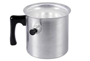 Krüger Wasserbadkocher, Aluminium, 1,0l