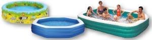 Planschbecken - Pool zum aufpumpen ...
