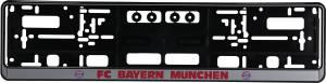 FC Bayern München Kennzeichenverstärker, grau