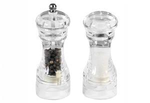 KESPER Salz und Pfeffer-Mühlenset Acryl
