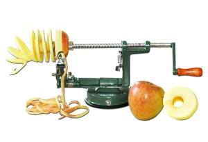 KIDS AT WORK Apfelschälmaschine