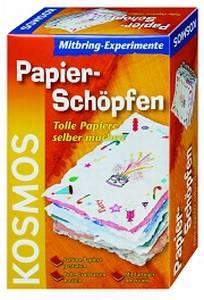 Produktabbildung KOSMOS Mitbringexperiment Papier-Schöpfen