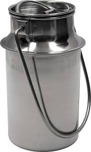 Karl Krüger Milchkanne 1 Liter Edelstahl