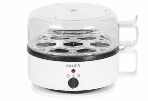 KRUPS Eierkocher Ovomat Super für 7 Eier weiß, 400 Watt
