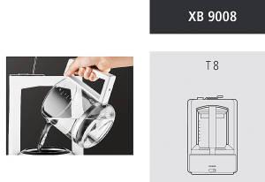 KRUPS, Ersatzkanne XB 9008 für T8