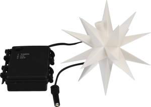 LED-Stern 12 cm weiß