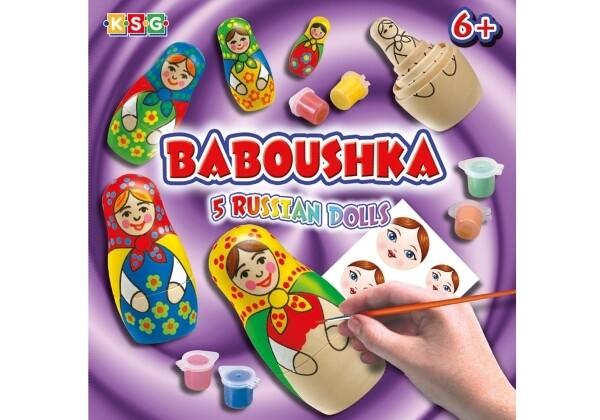 Matryoshka Baboushka Bastel-Set