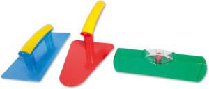 Spielzeug Maurergarnitur 3 Teilig
